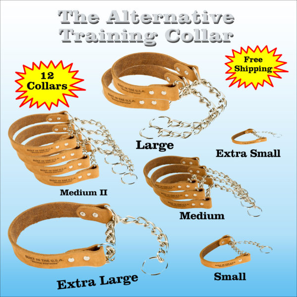 Half Case Of 12 Alternative Training Collars (wholesale)