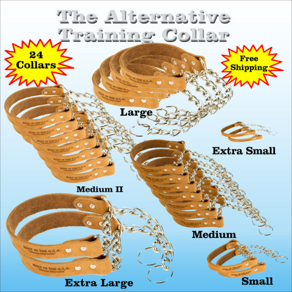 1 Case Of 24 Alternative Training Collars (wholesale)
