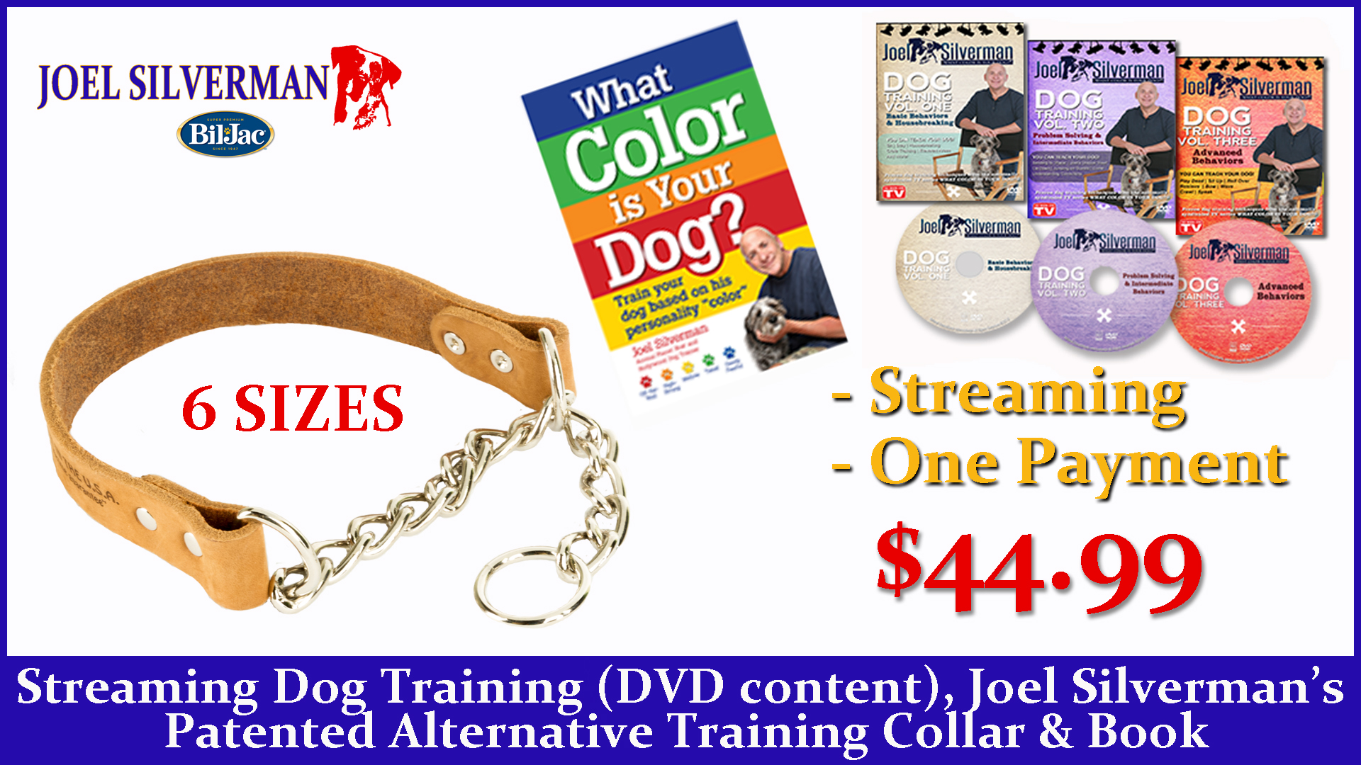 Streaming Dog Training – Basic, Intermediate, And Advanced + Alternative Training Collar + What Color Is Your Dog?
