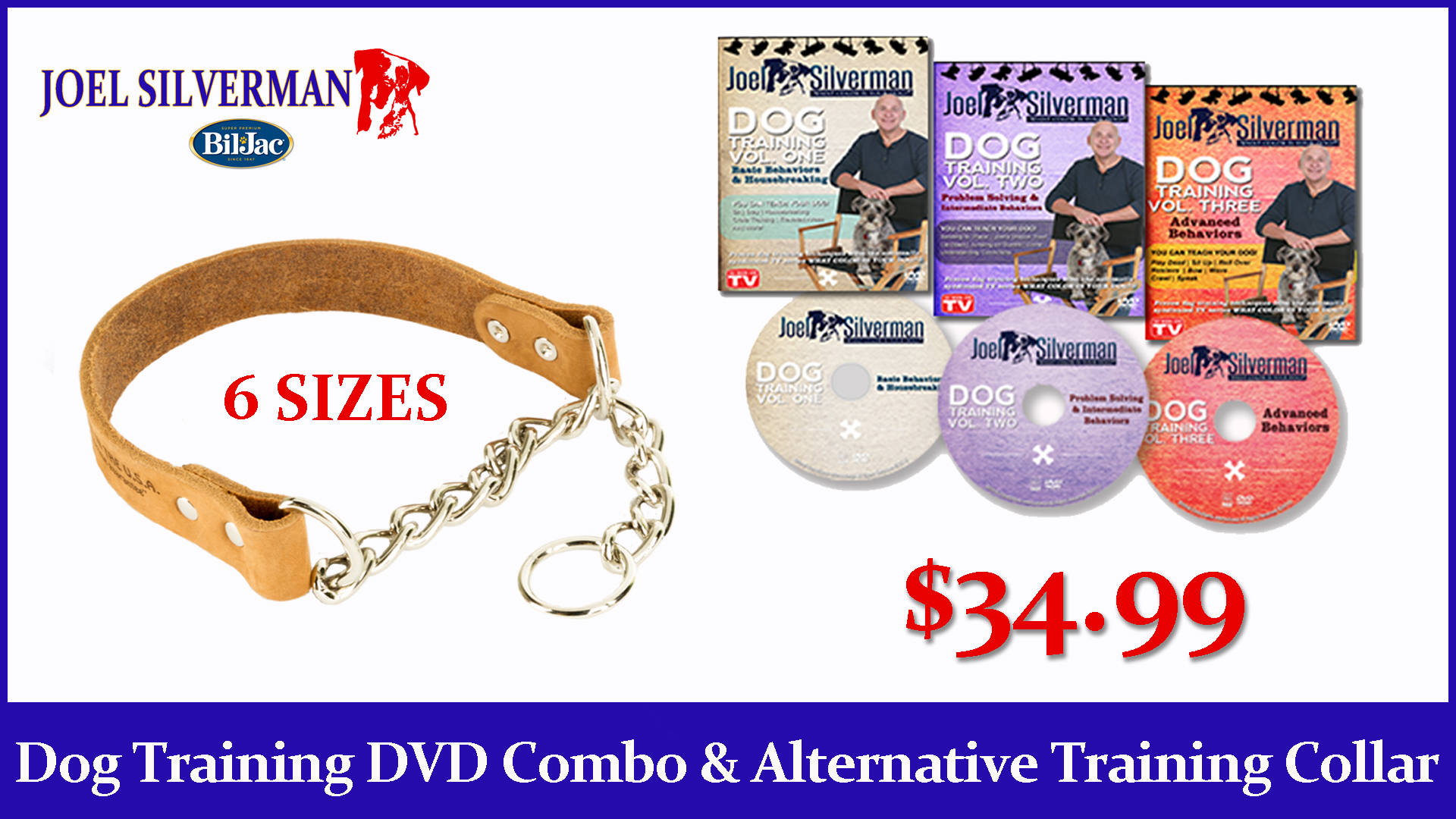 Joel Silverman's 3 DVD Set – Alternative Training Collar  Combo