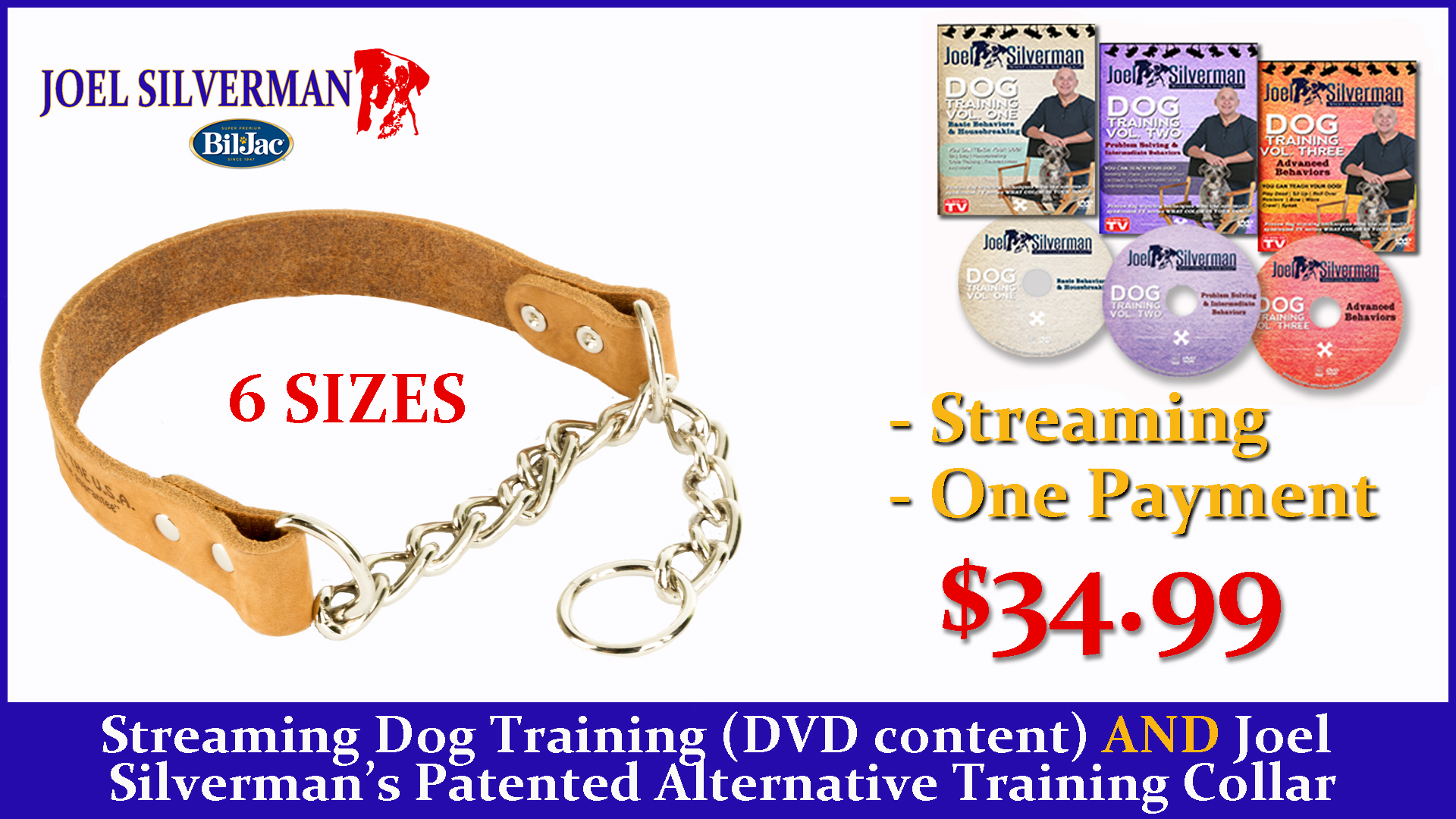 Streaming Dog Training – Basic, Intermediate, And Advanced + Alternative Training Collar