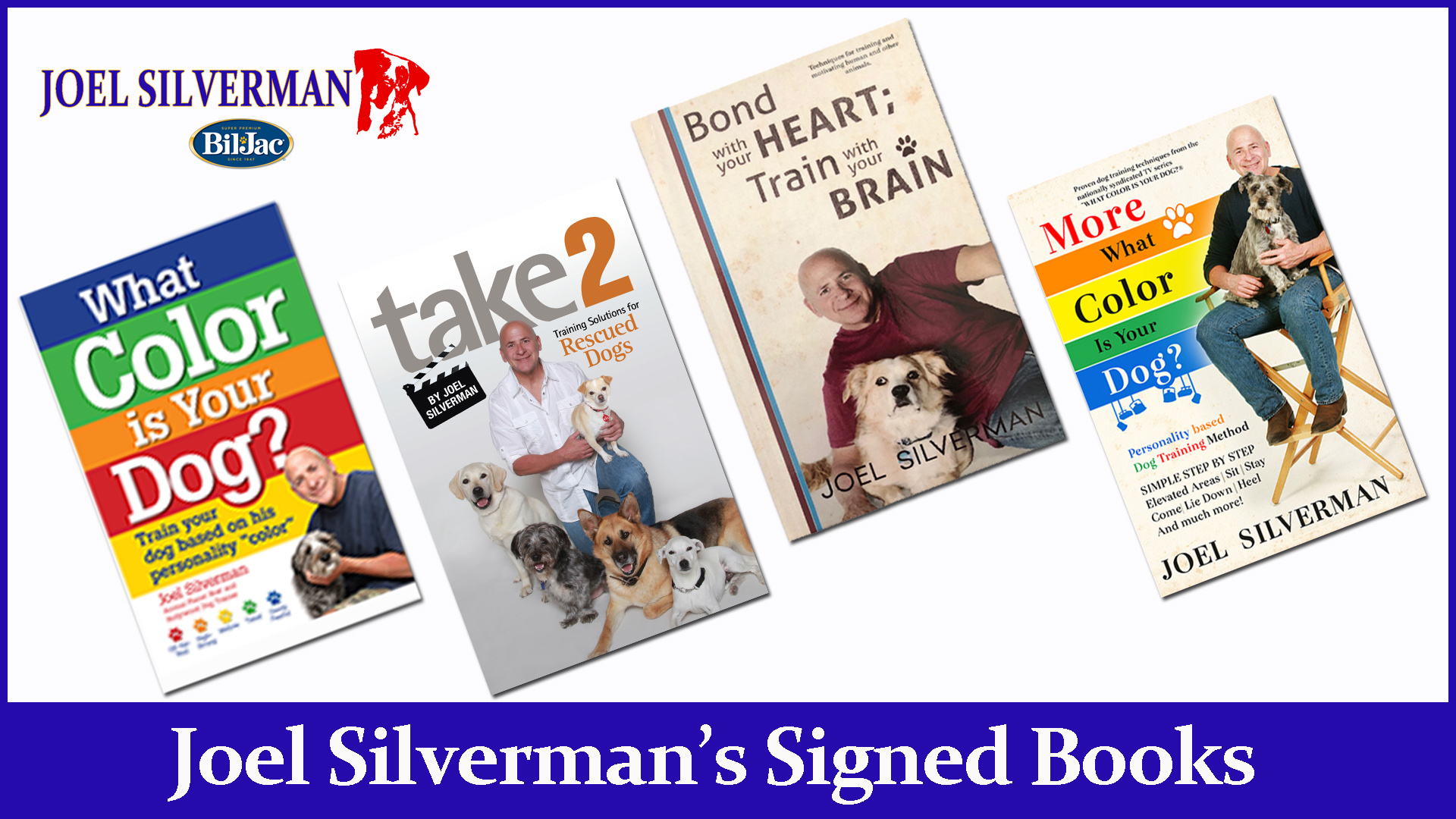 Joel Silverman's Signed Books