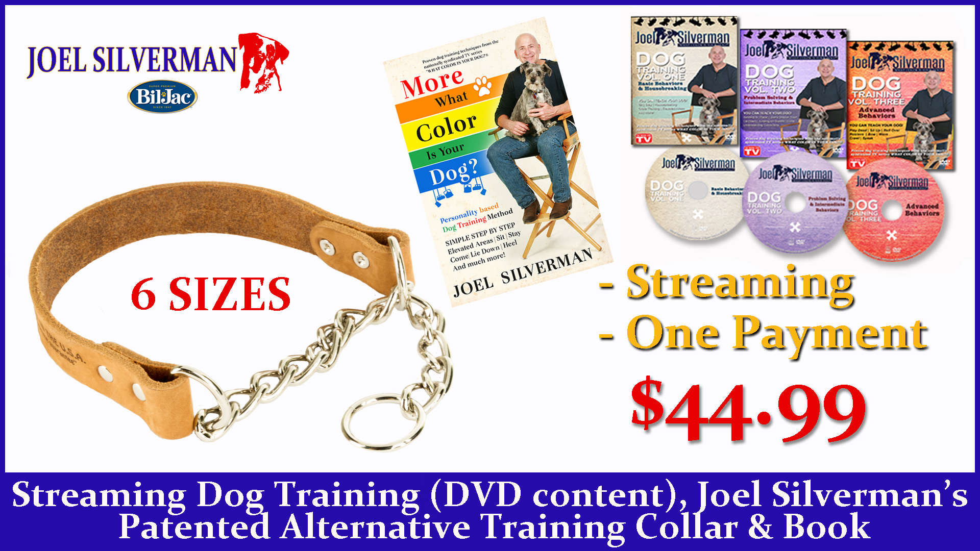 Streaming Dog Training – Basic, Intermediate, And Advanced + Alternative Training Collar + More What Color Is Your Dog?