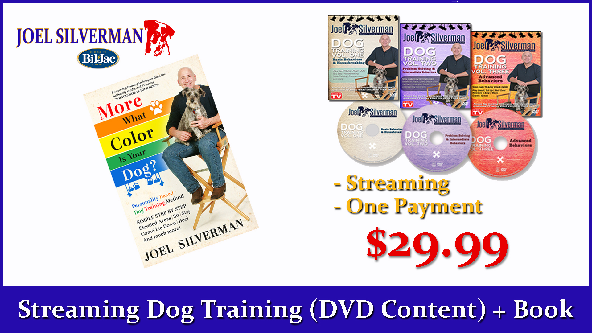 Streaming Dog Training – Basic, Intermediate, And Advanced + More What Color Is Your Dog?